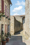 Lautrec (France), old village Stock Photo