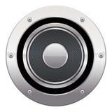 Lautsprecher-Ikone Stockbild
