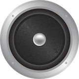 Lautsprecher-Ikonen-Abbildung Lizenzfreies Stockfoto