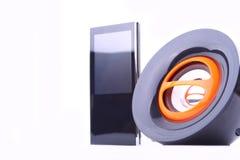 Lautsprecher und mp3 Stockfotografie