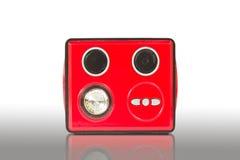 Lautsprecher und MP3-player lizenzfreies stockfoto