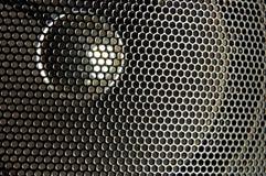 Lautsprechernahaufnahme Stockbild