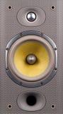 Lautsprechernahaufnahme lizenzfreie stockfotos