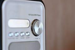 Lautstärkeregler auf dem MP3-Player lizenzfreie stockbilder