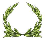 Lauwerkrans royalty-vrije illustratie