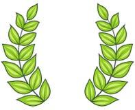 Lauwerkrans (Vector) royalty-vrije illustratie