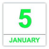 Lauwersoog.January 5. 2014年 渔船在Lauwersoog港口 在日历的天 免版税库存照片