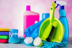 Lavándose, tema de limpieza Imagenes de archivo
