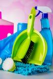 Lavándose, tema de limpieza Fotografía de archivo