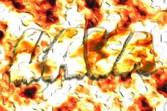 lava vektor abbildung
