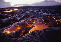 Lava 2 de Kona Foto de archivo