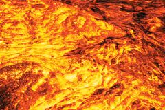 Lava. Computer created image based on photo Stock Photography