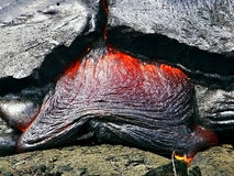 Lava. In Volcanoe National Park / Hawaii Stock Photos