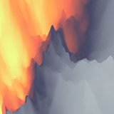Lava. Abstract background. Modern pattern. Vector Illustration For Your Design Stock Image