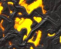 Lava background Stock Image