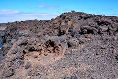Lava Basaltic Rock seco fotografia de stock royalty free