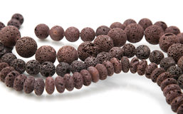 Lava beads Royalty Free Stock Image