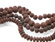 Lava beads Royalty Free Stock Image