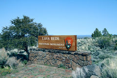 Lava beds national monument Royalty Free Stock Image