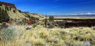 Lava Beds Overlook, Lava Beds National Monument, California Royalty Free Stock Image