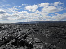 Lava on Big Island, Hawaii. Royalty Free Stock Photos