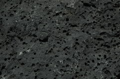 Lava Block. Used in building features on Lanzarote Royalty Free Stock Images