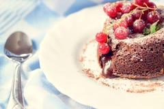 Lava cake Stock Photos
