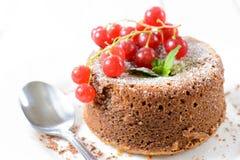 Lava cake Royalty Free Stock Photography