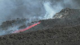 Lava channel stock video footage