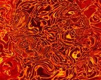 Lava crack ground textured Royalty Free Stock Image