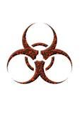 Lava de Biohazard stock de ilustración