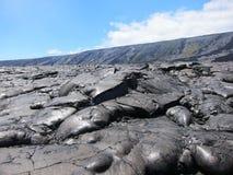 Lava dell'Hawai Fotografie Stock Libere da Diritti
