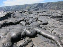 Lava dell'Hawai Fotografia Stock