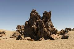 Lava desert Royalty Free Stock Photos