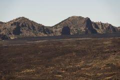 Lava desert Stock Photography