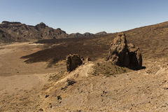 Lava desert Royalty Free Stock Photo