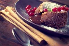 Lava dessert Stock Image