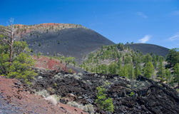 Lava dome, Sunset Crater Volcano National Monument. Near Flagstaff, Arizona Royalty Free Stock Photo