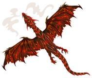 Lava dragon Stock Photo