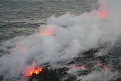 lava för 2 flöde Royaltyfri Foto