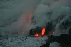 lava för 5 flöde Arkivfoton