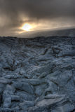 Lava-Feld Stockfotografie