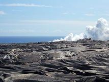 Lava-Felder lizenzfreies stockbild