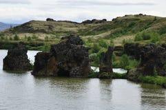 Lava-Felsen Stockfoto