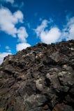Lava-Felsen in Island stockfotografie
