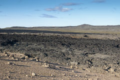 Lava field Royalty Free Stock Photography