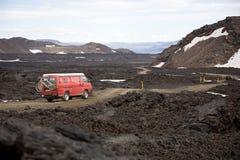 Lava field Royalty Free Stock Photography