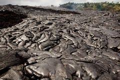 Lava Field frais Images libres de droits