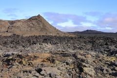 The lava field of Leirhnjukur Royalty Free Stock Photos
