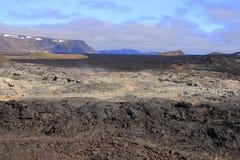The lava field of Leirhnjukur Stock Images